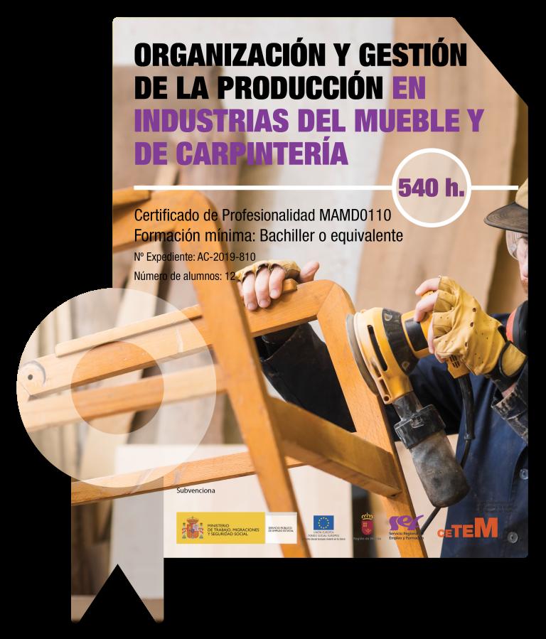 Organización y gestión de la producción en industrias del mueble