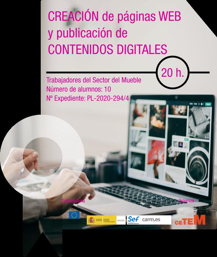 CREACIÓN DE PÁGINAS WEB Y PUBLICACIÓN DE CONTENIDOS DIGITALES