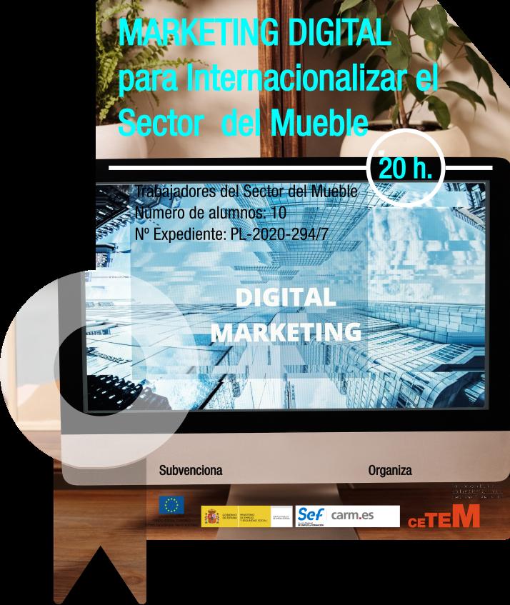 MARKETING DIGITAL PARA INTERNACIONALIZAR EL SECTOR DEL MUEBLE